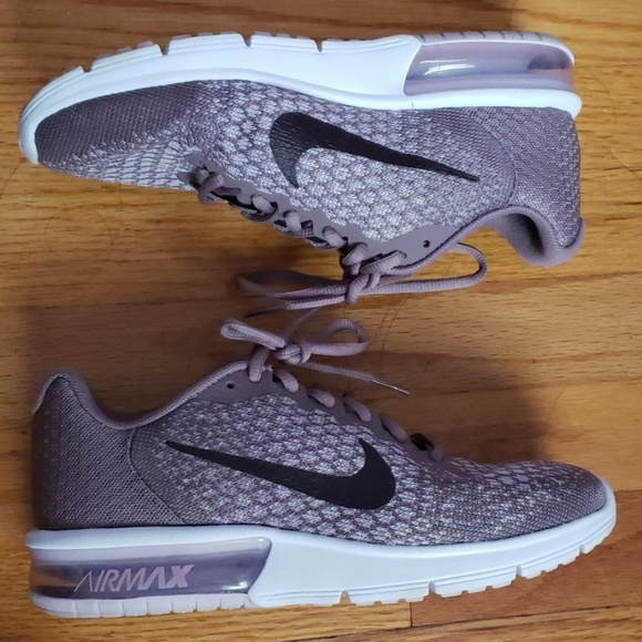 Nike Rubber Wmns Air Max Thea Taupe Grey Port Wine white in